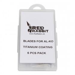 6 knive til AL-KO Titanium