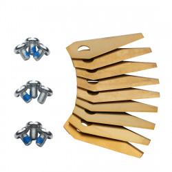 Bosch Indego knive til robotplæneklipper Titanium 9 stk